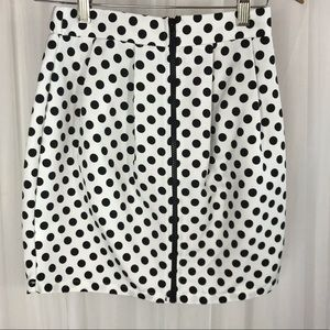 Painted Threads Polka-Dotted Skirt Size Small